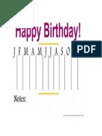 Birthday Organizer