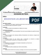 DICIONÁRIO DE FÍSICA