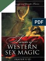 Secrets of Western Sex Magic by Frater u d