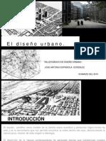diseño urbano.