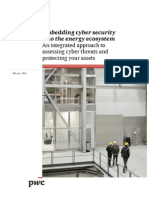 Pwc Embedding Cyber Security Into the Energy Ecosystem PDF