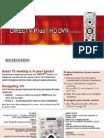 DirecTV DVR HR23 Manual