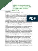 Ancestros, ciudadanos, piezas de museo Francisco P. Moreno y la articulación del indígena en la c.doc