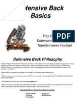 Defensive Back Manual