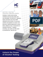 Evidential Workplace Breath Testing Automatic Instrument Calibration from Lifeloc