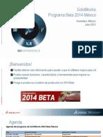 1-SolidWorks Beta 2014 Introduccion