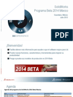 1-SolidWorks Beta 2014 Introduccion
