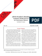 All the President's Mandates