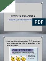 LENGUA ESPAÑOLA - EXPO1