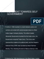 Movement Towards Self Government