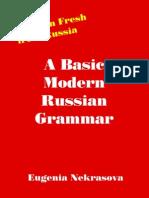 A Basic Modern Russian Grammar Eugenia Nekrasova
