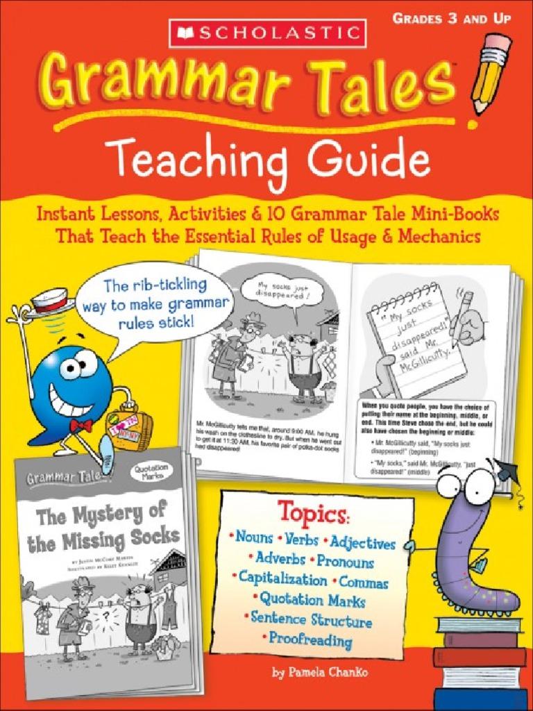 New pdf release: grammar tales teaching guide oribarri. Com library.