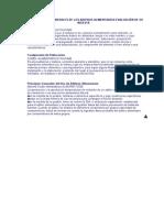 CARACTERÍSTICAS GENERALES DE LOS ADITIVOS ALIMENTARIOS EVALUACIÓN DE SU INGESTA