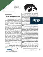 Coach Ferentz - 9 22 09