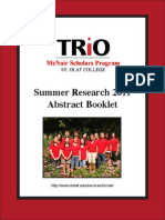 Abstract Booklet 2011