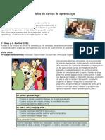 Modelos de Estilos de Aprendizaje