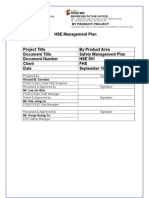 By Product Project HSE Management Plan