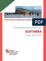 Programacion Guitarra 20122013