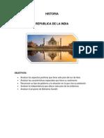 REPÚBLICA DE LA INDIA