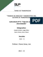 Laboratorio 2 - Caja de Cambios Sincronizada