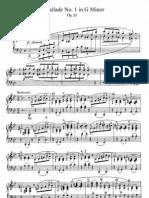 Chopin- Ballade Op23