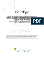 Evaluation and Treatment of Depression, Psychosis, And Dementia in Parkinson DiseaseNeurology-2006-Miyasaki-996-1002