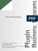 Documentation Plugin Maximenuck Params-En