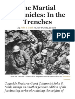 The Martial Chronicles, In the Trenches - Nov 17. 2012