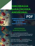 Hemorragia Subaracnoidea Tanya Final