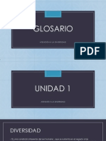 GLOSARIO Diversidad Blog