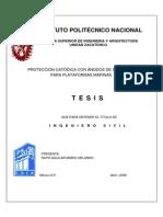 246_proteccion Catodica Con Anodos de Sacrificio Para Plataformas Marinas