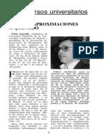 Pablo Jauralde Conferencia Cuatro Aproximaciones a Quevedo