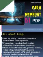 (3) Cara Membuat Blog