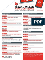 OnlineConference Schedule 2013