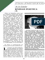 Garcia Del a Concha La Modernidad Poetica Espanola