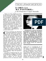 106311624 Francisco Lopez Estrada Siglos de Oro La Literatura Pastoril