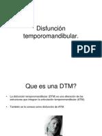 Disfunción temporomandibular.ppt