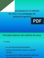 La enseñanza basada en el método de casos