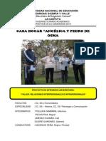 Proyecto de Relaciones Interpersonales e Intrapersonales