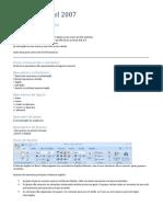 Resumão Apostila Excel 2007