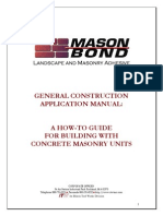 General Construction Application Manual
