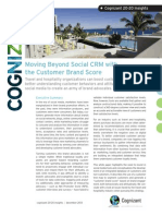 Moving Beyond Social CRM with the Customer Brand Score