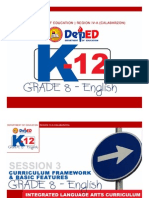 English Framework for Tot