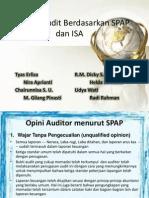 Laporan Audit Berdasarkan SPAP Dan ISA