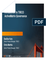 Introduction to TIBCO ActiveMatrix Governance