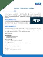 WE 204 - Bearing Root Cause Failure Analysis