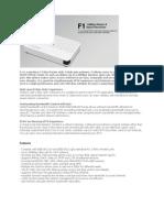 Totolink-F1 Fiber Router