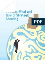 The Why What and How of Strategic Sourcing
