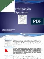 Final Investigacion Operativa