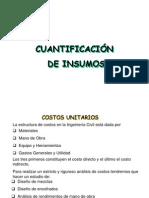Unidad de Cuantificaciones de Material